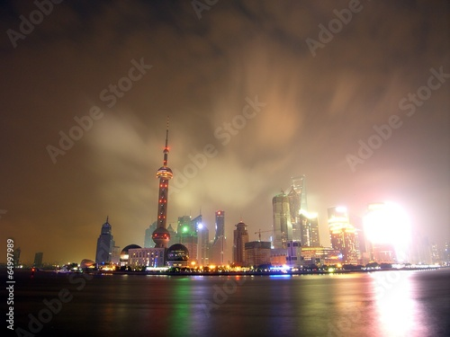 The image of Shanghai in China,Asia Poster