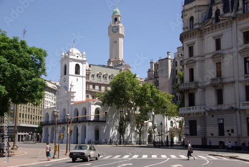 Foto op Canvas Buenos Aires Eglise à Buenos Aires, Argentine