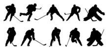 Hockey P1 Silhouettes