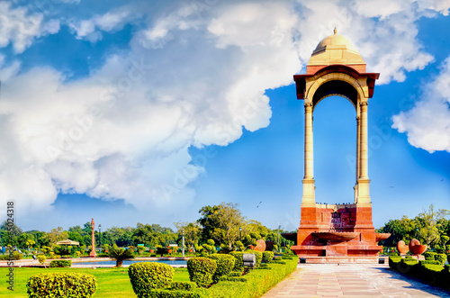 Cadres-photo bureau Delhi building or structure at india gate delhi india