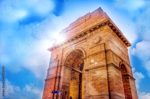 Stickers pour portes Delhi india gate at new delhi india asia