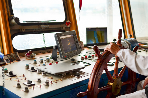 Fotografía  Ship navigation