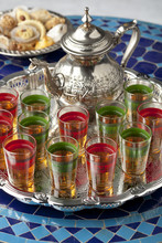 Moroccan Tea And Cookies