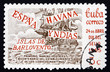 Postage stamp Cuba 1965 Sailing Ship on the Sea