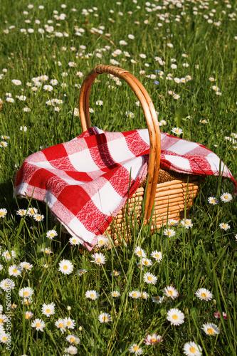 Keuken foto achterwand Picknick picnic basket