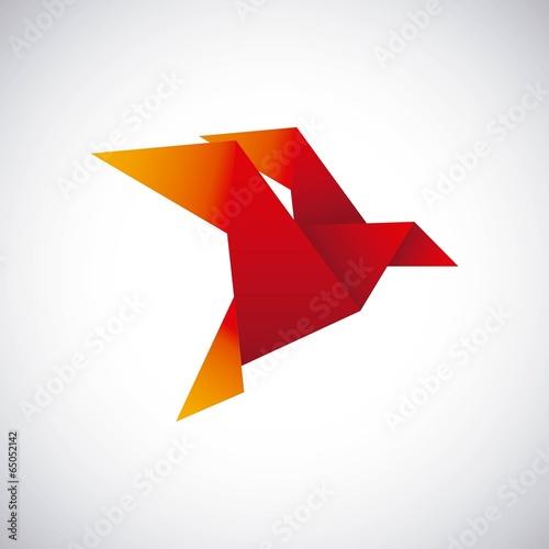 Poster Geometric animals Animal design