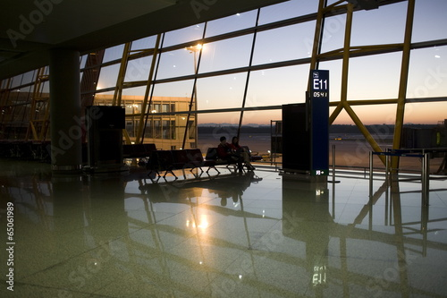 Foto op Aluminium Luchthaven The image of travel destinations