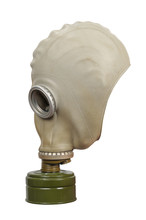 Gas Mask Isolated On A White Background