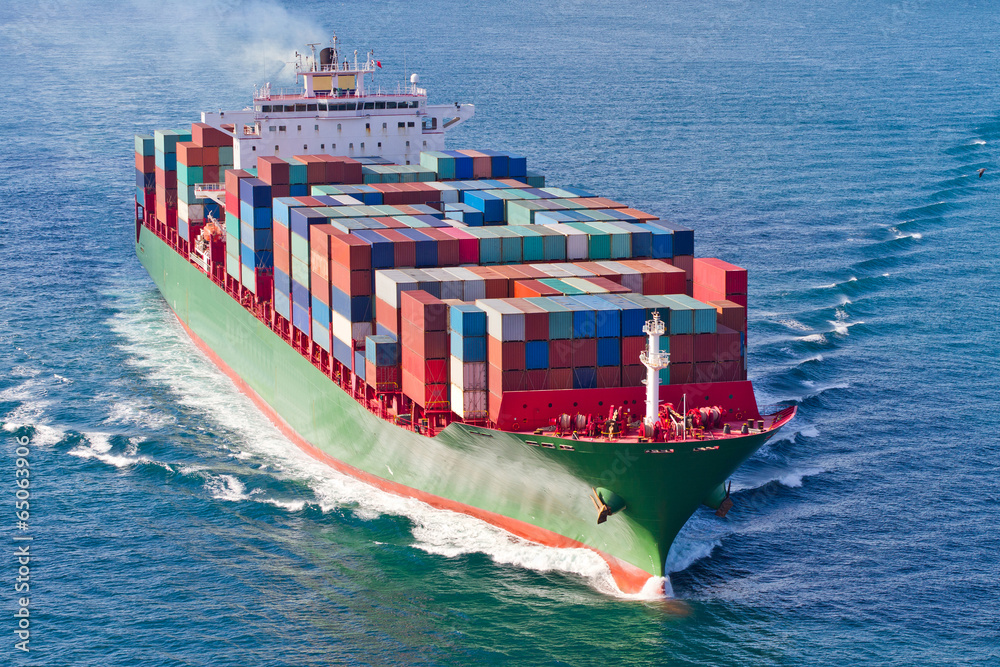 Fototapety, obrazy: Container Ship