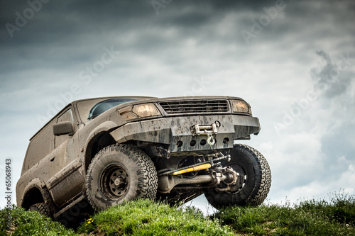 Plagát  Off road car