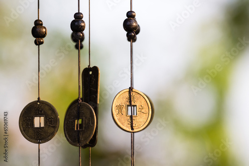 Photo  Chinese coins chime