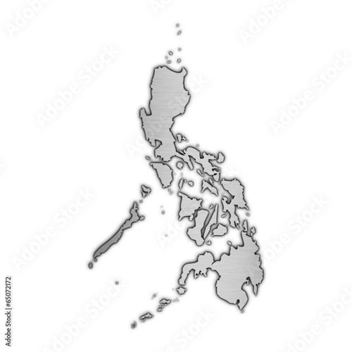 High detailed vector map - Philippines. © filipbjorkman