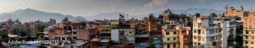 Staande foto Nepal Panorama Kathmandu city, Nepal