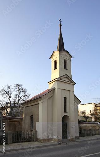 Chapel in Turnov. Czech Republic Poster
