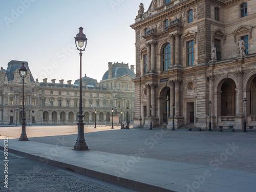 Palais du Louvre Poster