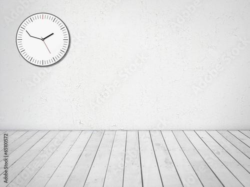 Fotografie, Obraz  delay clock and room background