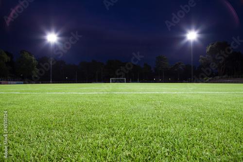 Obraz spielfeld fußball - fototapety do salonu
