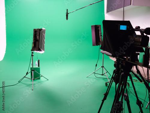Photo  Interiors of a film studio