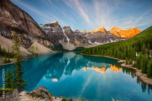 Foto op Canvas Natuur Park Moraine Lake