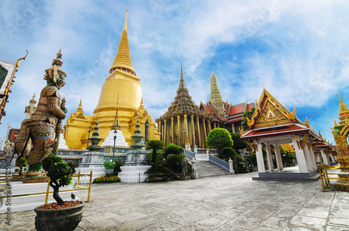 Foto auf Leinwand Tempel Wat Phra Kaew Temple of the Emerald Buddha