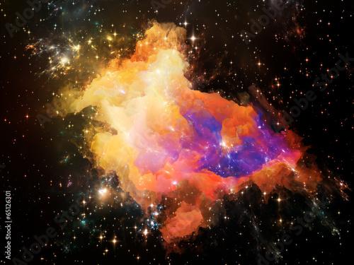 Fototapeta Realms of Space obraz na płótnie