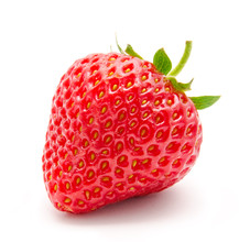 Perfect Red Ripe Strawberry Is...