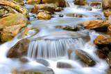 nice cascade of mountain stream