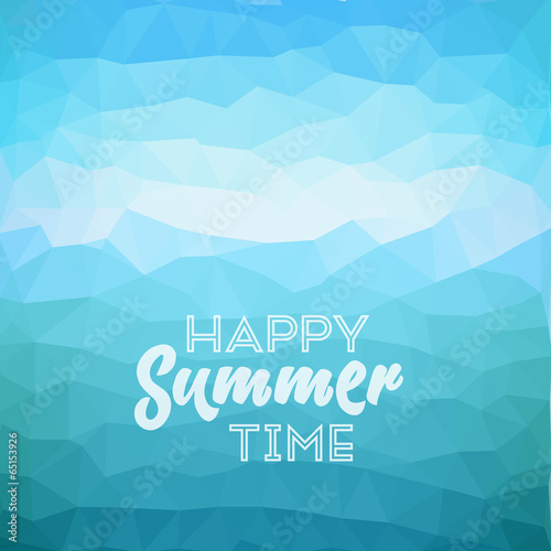 Keuken foto achterwand Turkoois Summer holiday tropical beach background
