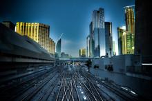 Toronto Railway Yard Union Station