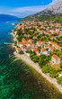 Orebic town in Croatia