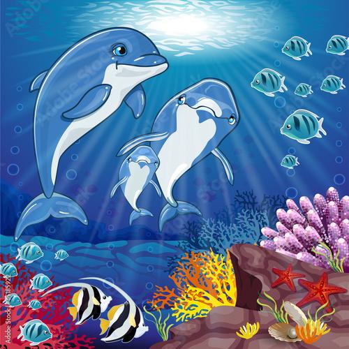 delfiny-na-dnie-morza
