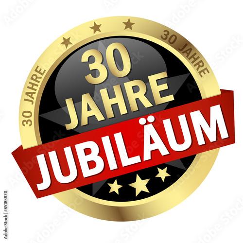 """Fotografia  Button mit Banner """" 30 JAHRE JUBILÄUM """""""