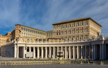 View Of Apostolic Palace From ...