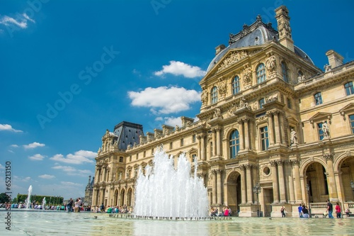 Fototapeta Musée du Louvre à Paris