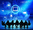 canvas print picture - Internet Security System