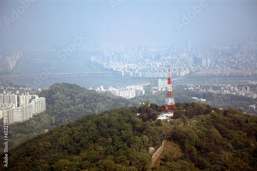 Photo  View of the city, Seoul, Korean Republic