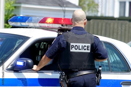 Fotografie, Obraz  POLICIE