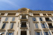 Façade d'un bâtiment à Nice ( France, Côte d'Azur)