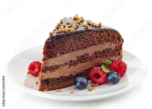 Fotografia, Obraz  Chocolate cake