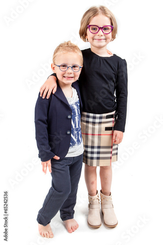 Fotografie, Obraz  Frère et soeur