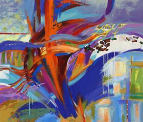Fototapeta samoprzylepna The Art of abstraction