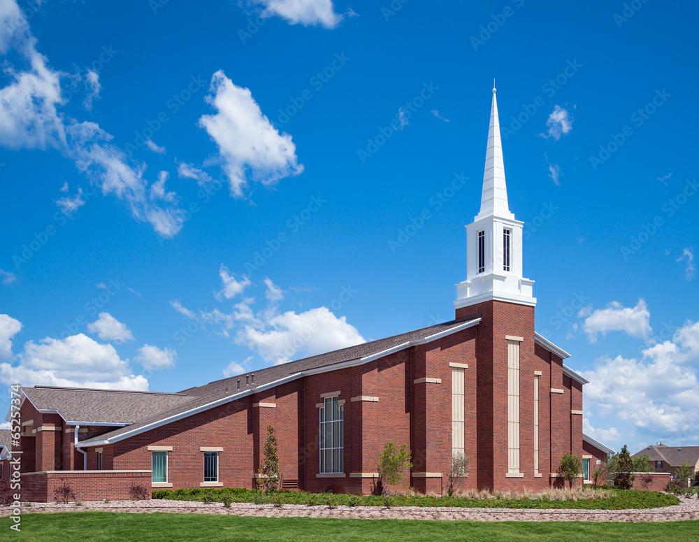 Fototapety, obrazy: Mormon church