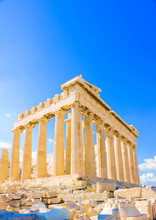 The Famous Parthenon Temple In...