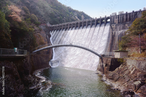 Deurstickers Dam ダム