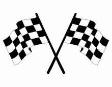Checkered Vector Race Flags