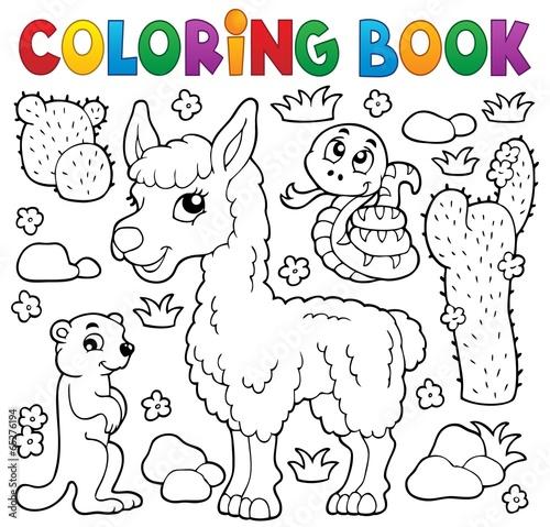 Coloring book with cute animals 4 – kaufen Sie diese ...