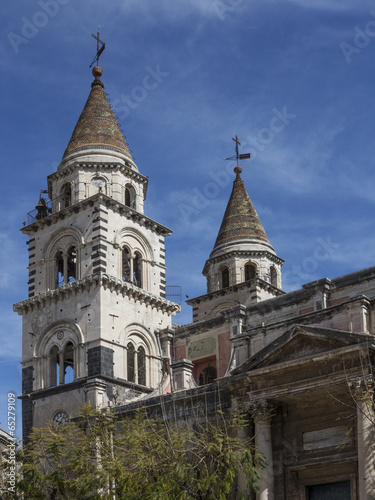 Photo Cathedral of Acireale in Sicily, Italy