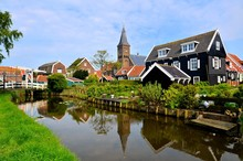 Dutch Fishing Village Of Marke...