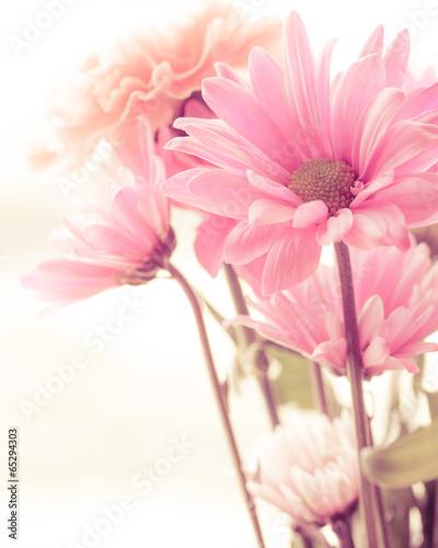 Foto op Canvas Bloemen Soft tone floral bouquet