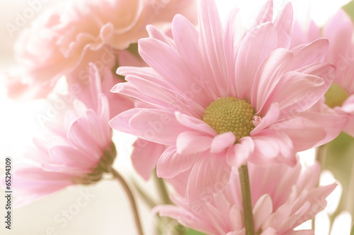 Photo  Soft tone floral bouquet